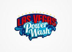Car wash eye catching and pop logo design