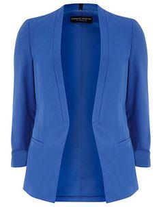 Brands | Jackets & Blazers | Cobalt Crepe Blazer | Hudson's Bay