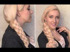 4 strand scarf braid