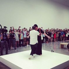 Jay Z and Marina Abramovic perform Picasso Baby Marina Abramovic, Bring It On, Take That, Nyc Art, Jay Z, Right Now, Picasso, Babe, Art Gallery