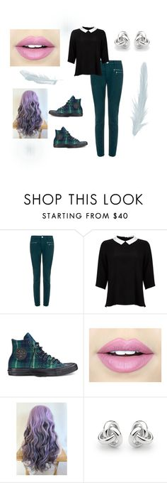 """""""Just Teal With Me..."""" by passion-for-fashion311 ❤ liked on Polyvore featuring dVb Victoria Beckham, Lipsy, Converse, Fiebiger and Georgini"""