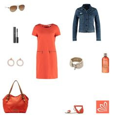 Orangeroter Sommer http://www.3compliments.de/outfit?id=129585713
