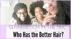 Separation in the Natural Hair Community