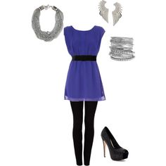 Not that I'm much of a party girl, but this would be a great outfit for clubbing!