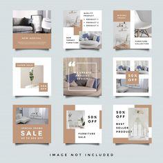 Insta Layout, Instagram Feed Layout, Instagram Grid, Instagram Design, Design Portfolio Layout, Layout Design, Social Media Banner, Social Media Design, Marketing Strategies
