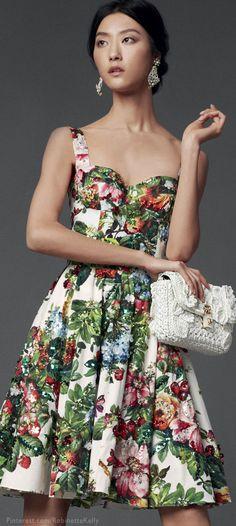 #Dolce & Gabbana 2014 #Florals