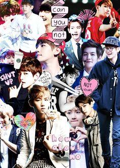 Baekhyun collage