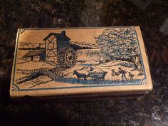 Vintage Diamond Kitchen Matches in Ornate Box by maggiecastillo, $3.48