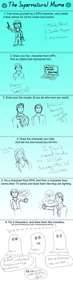 supernatural meme by ~CaptainZoZo on deviantART
