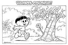 100 Desenhos para Colorir Turma da Mônica EspacoEducar.rar