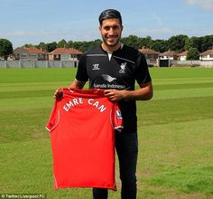 Emre Can (GER) - From Bayer Leverkusen (GER) to Liverpool (ENG) - 2014 - 9,8 million pounds