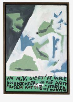 AUCTION FIVE | Martin Kippenberger, Untitled. Oil on canvas, 50 x 35 cm