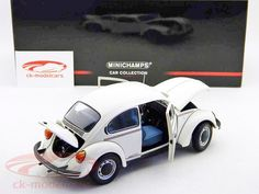 Volkswagen VW 1200 Beetle Jeans Bug white 1:18 Minichamps