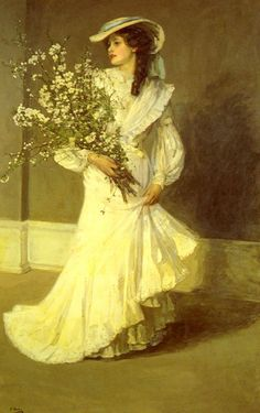 Painting by Vittorio Matteo Corcos.