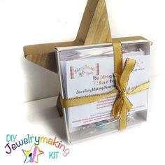 DIY Jewellery Making starter kit Set of 4 by TheJazzyJewelzStudio