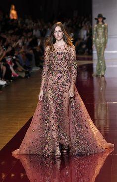 >Zuhair Murad'ın Haute Couture Sonbahar/Kış'16 defilesinden kareler, galerimizde.