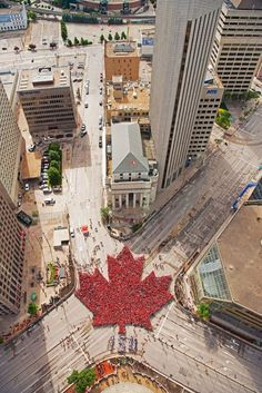 Canada Day Living Maple Leaf – July 2017 Thank you to everyone who joined us today! proud Winnipeggers joined us bright and early at Portage & Main! Immigration Au Canada, Vancouver, Canada Memes, Meanwhile In Canada, Canada Pictures, Canadian Things, Canada 150, Canada Leaf, Canada Destinations
