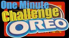 Oreo One Minute Challenge #kids #oreo