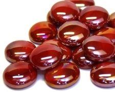 Lasihelmet, Punainen iridisoitu 100 g