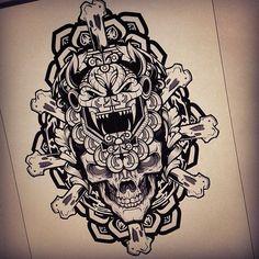 "@hydrosevenfour's photo: ""Aztec mess'around"""