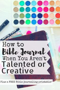 Do you love the idea of Bible journaling but feel like you just couldn't do it? Maybe you've seen Bibles filled with beautiful writing and drawings and you think you don't have the skills to ever try something so bold. In this post, we'll teach you how to Scripture Art, Bible Art, Scripture Journal, Prayer Journals, Bible Journaling For Beginners, Art Journaling, Journal Art, Bullet Journal, Journal Prompts