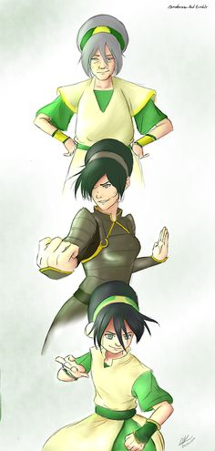 Age and Time Don't Always Have to Change Us | Toph Beifong | The Last Airbender | The Legend of Korra | Avatar