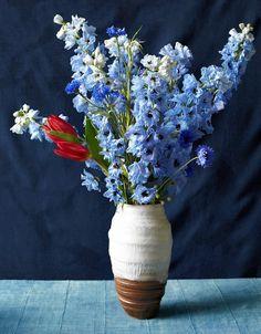 A Flower Arrangement Inspired by Matisse