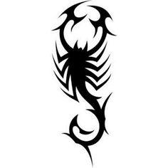 Tribal Scorpion Tattoo | Tribal scorpion tattoo - Here my tattoo - Find your tattoo online!