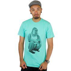 T-Shirt Mister Tee Gorilla mint ★★★★★