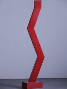 Ivan Kožarić, Crveni znak [Red Sign], 1969.