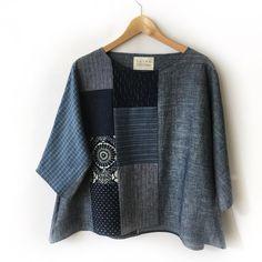 got four new pieces up today! made 2 of each. Japanese Cotton, Kimono Fashion, Apparel Design, Holiday Outfits, Slow Fashion, Indian Wear, Refashion, Kimono Top, Kimono Style