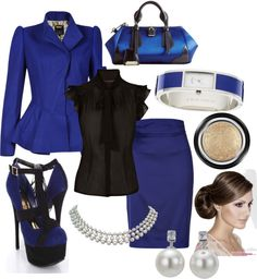 """corporate business attire"" by kellybirnbaum on Polyvore"