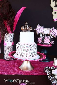 Leopard Princess Party | CatchMyParty.com