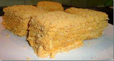 Μεντόκ (τούρτα μελιού)-TwoChiCHis Cornbread, Banana Bread, Bakery, Sweets, Ethnic Recipes, Desserts, Food, Millet Bread, Tailgate Desserts