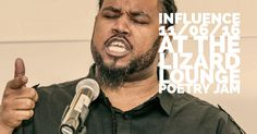 """Sharmont """"Influence"""" Little is the featured poet at the Lizard Lounge Sunday November 6, 2016 http://poetryjam.com"""