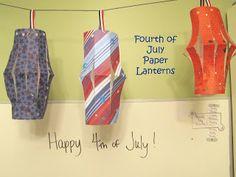 4th of July lanterns