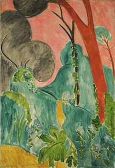 High resolution scan of the work/painting Periwinkles (Moroccan Garden) 1912 by Matisse, Henri Modern Art, Art Painting, Abstract Artists, Painting, Henri Matisse, Museum Of Modern Art, Art, Art Movement, Garden Painting