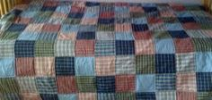 Image result for plaid shirt quilt patterns