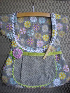 Sweet One of a Kind Double Pocket Clothespin Bags by sunshineidaho, $18.00