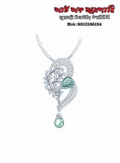 Pendant Design, Pendant Set, Diamond Pendant, Diamond Bracelets, Diamond Jewelry, Gents Ring, Jewelry Illustration, Jewellery Sketches, Sketch Design