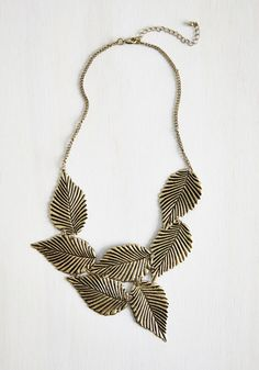 Leafing Town Necklace From The Plus Size Fashion Community At www.VintageAndCurvy.com