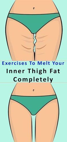 Here Are 5 Exercises To Melt Your Inner Thigh Fat Completely!!! - Way to Steal Healthy