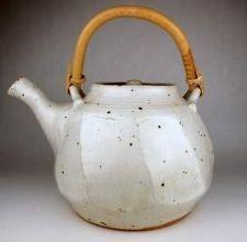 Stamped Warren Mackenzie Studio Art Pottery Tea Pot  Museum Quality