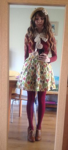 littlemorigirl: Otome outfit from today.