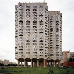 Housing estate, Sankt Petersburg, Russia, 2010. © Nicolas Grospierre