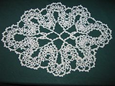 This is a crochet doily from a pattern that is Irish Lace. Description from artfire.com. I searched for this on bing.com/images