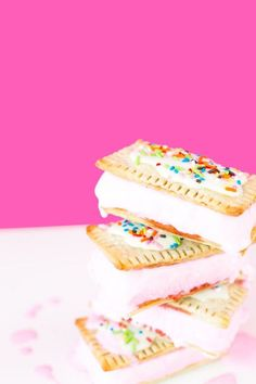 Pop Tart Sandwiches