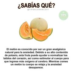 Cantaloupe, Natural Remedies, Health Tips, Fruit, Food, Coffee Gif, Tasty, Education, Projects