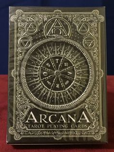 Arcana Dark Tarot Playing Cards Official Backer Deck 1 4200 SEALED | eBay