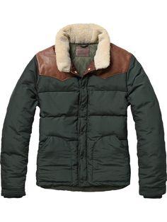 Scotch & Soda puffer jacket
